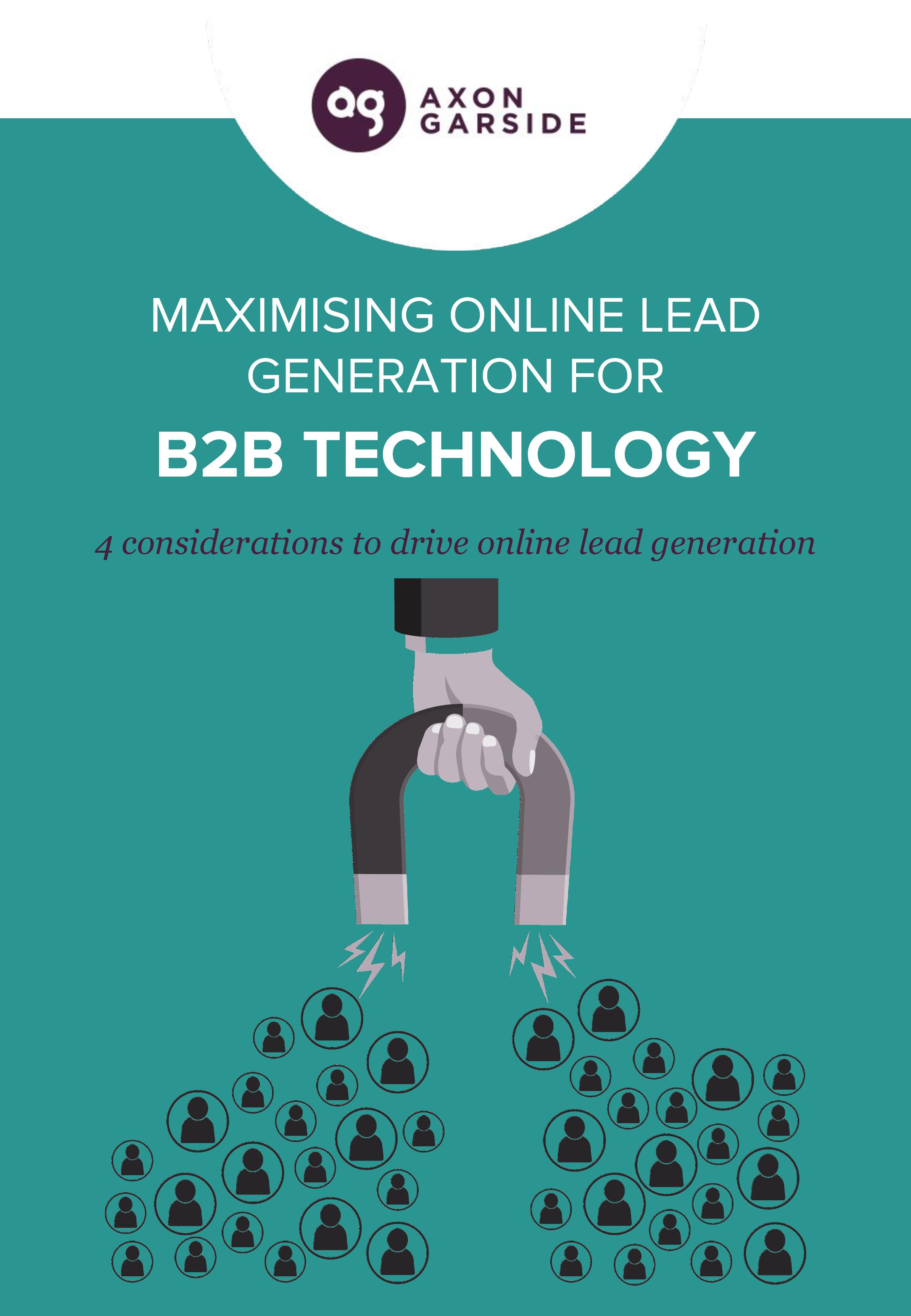 Maximising online lead generation for B2B technology companies