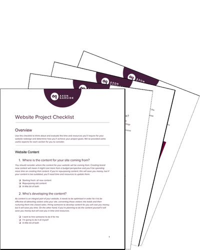 website-project-checklist-front-cover