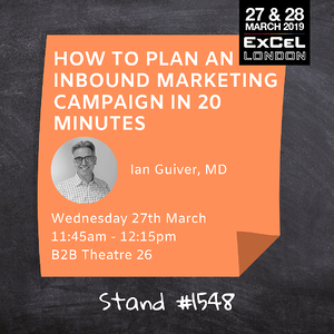 How to plan an inbound marketing campaign in 20 minutes