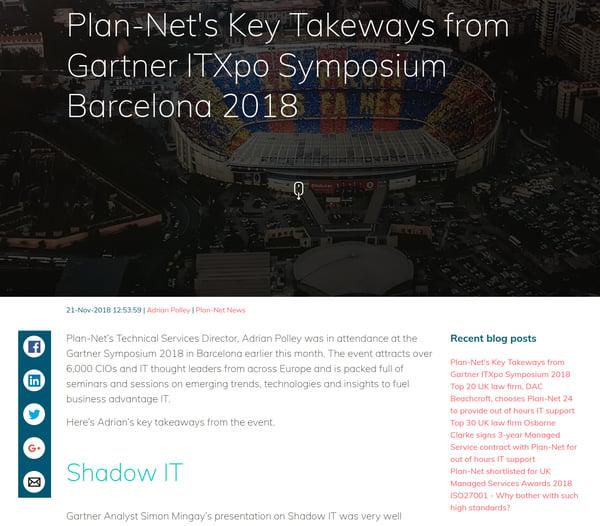 Plan-Net blog
