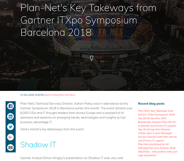 Plan-Net blog
