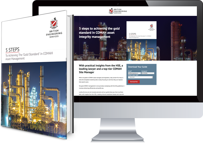 Inbound Marketing Collateral for British Engineering Services