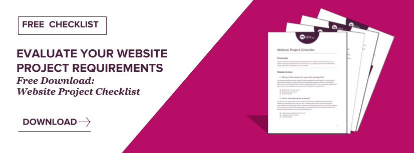 Download Website Project Checklist