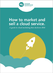 How to market and sell a cloud service