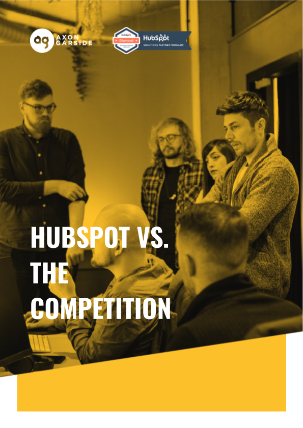 2020 - 05 - Axon Garside - Ebook - HubSpot vs. the Competition