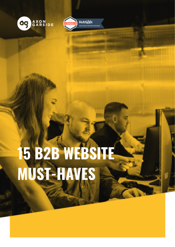 2020 - 06 - Axon Garside - Ebook - 15 B2B Website Must-haves