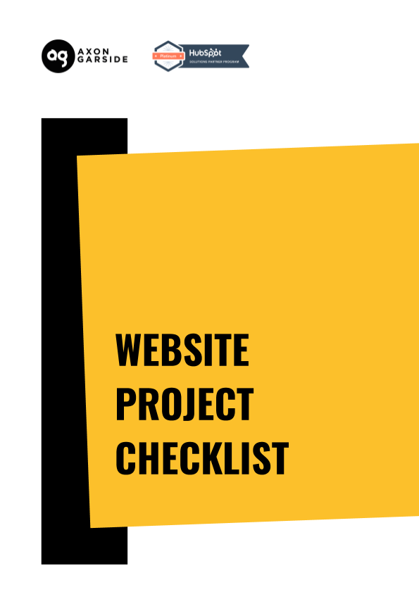 2020 - 06 - Axon Garside - Ebook - Website Project Checklist