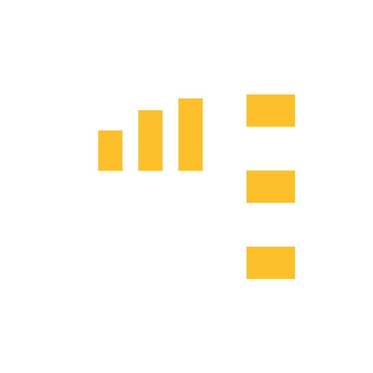 AG - Icon - Stats ΓÇö White
