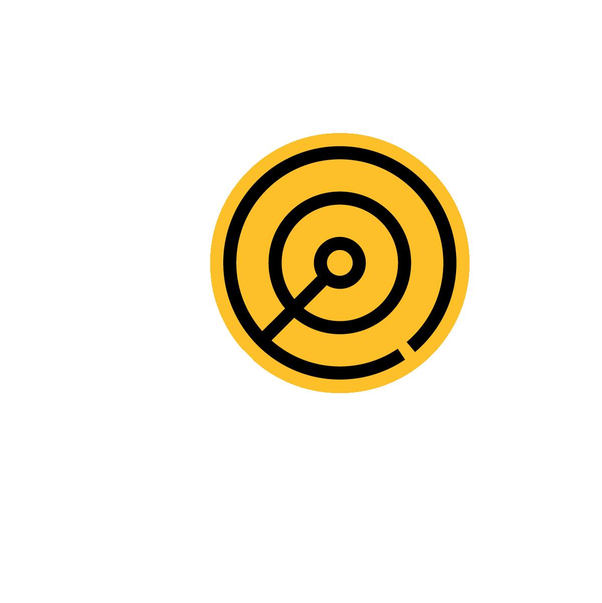 AG - Icon - Target ΓÇö White