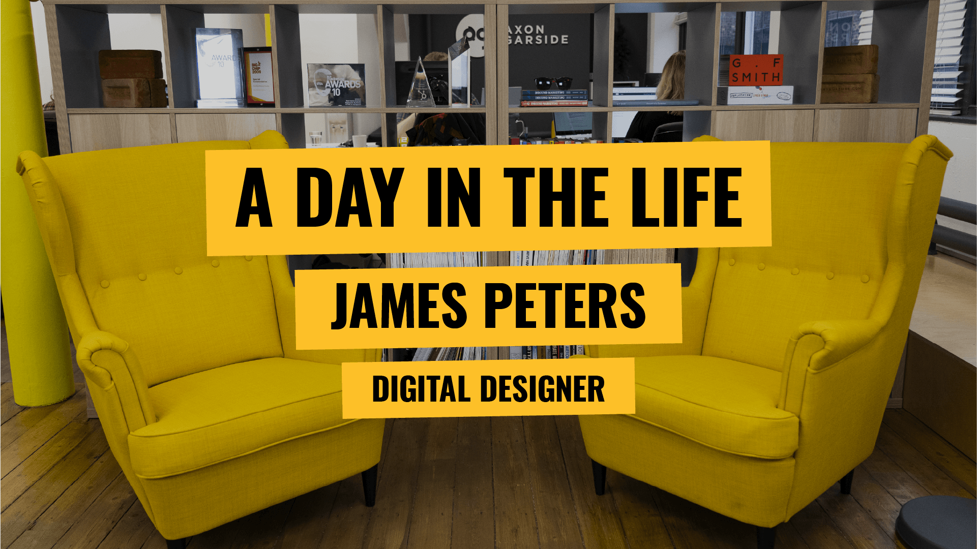 [Video] A day in the life - Design Specialist - James Peters