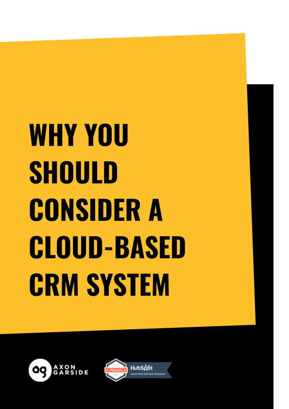 2020 - 05 - Axon Garside - Ebook - Cloud CRM Guide