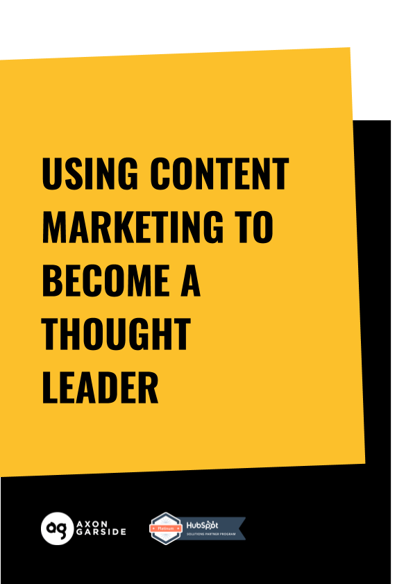 2020 - 05 - Axon Garside - Ebook - Thought Leader with Content