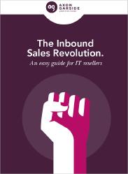 The inbound sales revolution