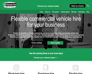 B2B Website Design for Enterprise Flexeren