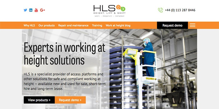 HubSpot COS site for HLS