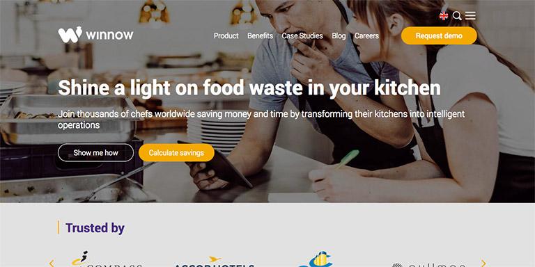 HubSpot COS site for Winnow
